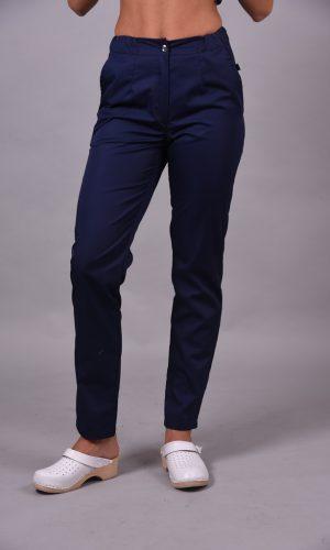 Spodnie medyczne damskie kolor Sailor Blue
